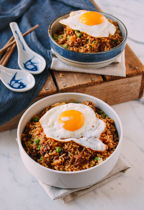 Hamburger Fried Rice Recipe Easy Dishes Fried Rice Food