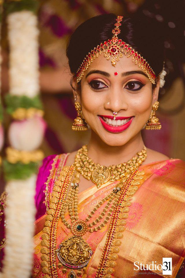 your description Jewelry Pinterest South indian bride
