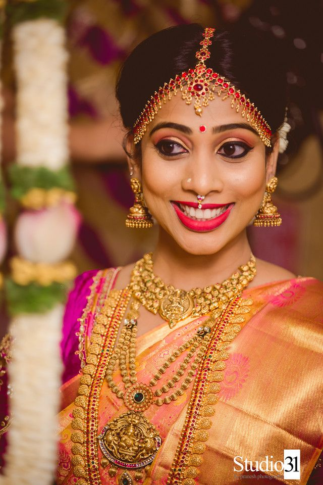 South Indian bride | Bridal | Pinterest | South indian bride ...