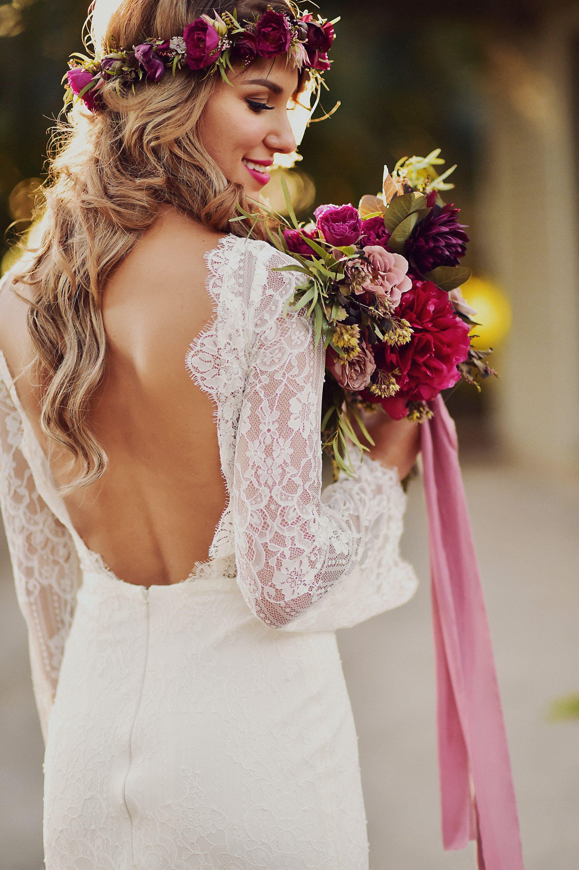 Heartwarming and Dreamy Rustic Boho Beachfront Wedding In Maui ...