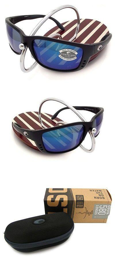 Sunglasses 151543: New Costa Del Mar Zane Black / 580 Blue Mirror Glass 580G BUY IT NOW ONLY: $169.95