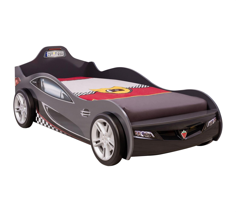 Funktionsbett 100x200  LIT COUPE NOIR 90X190CM – lit coupe noir – lit – Cilek | Espace ...