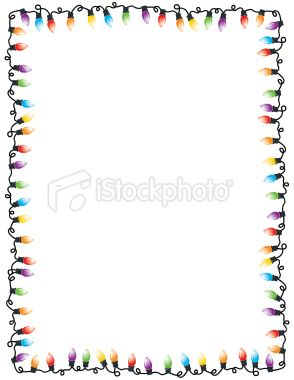 Graphic Vector Illustration Of Christmas Lights Making A Frame Party Frame Christmas Lights Frame Background