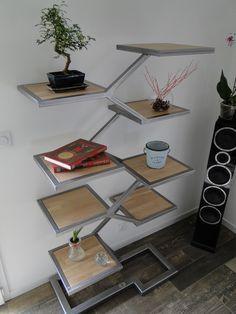 Conception Et Fabrication De Mobilier Contemporain Acier Bois Metal