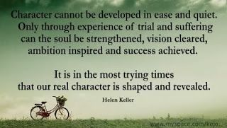 Helen keller character quote google search quotes pinterest helen keller character quote google search altavistaventures Image collections