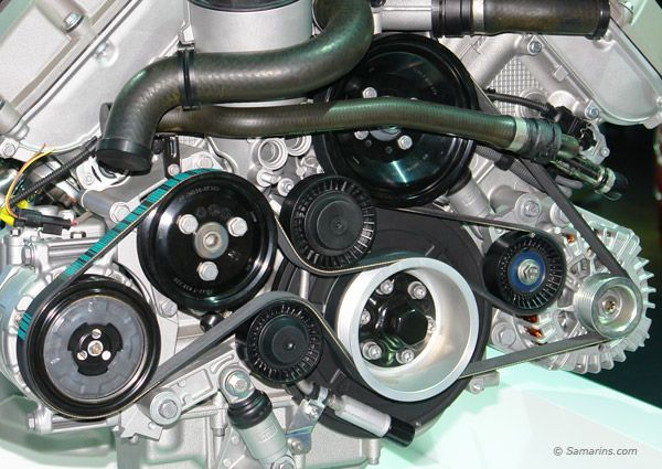 What Is A Serpentine Belt A Serpentine Belt Is Another