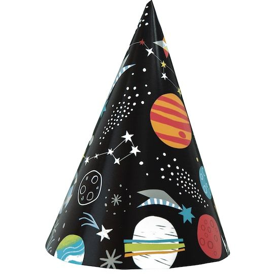 Outer Space Party Hats, 8Ct By Unique | Michaels® #outerspaceparty