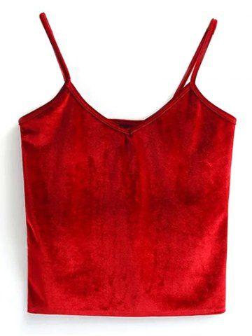 GET $50 NOW | Join RoseGal: Get YOUR $50 NOW!http://www.rosegal.com/vests/velvet-cami-cropped-tank-top-935616.html?seid=5957462rg935616