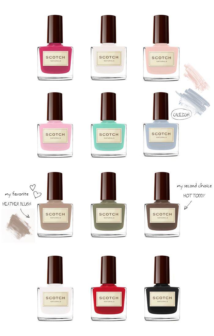 SCOTCH NATURALS - Non-toxic, eco-friendly water-based nail polish ...