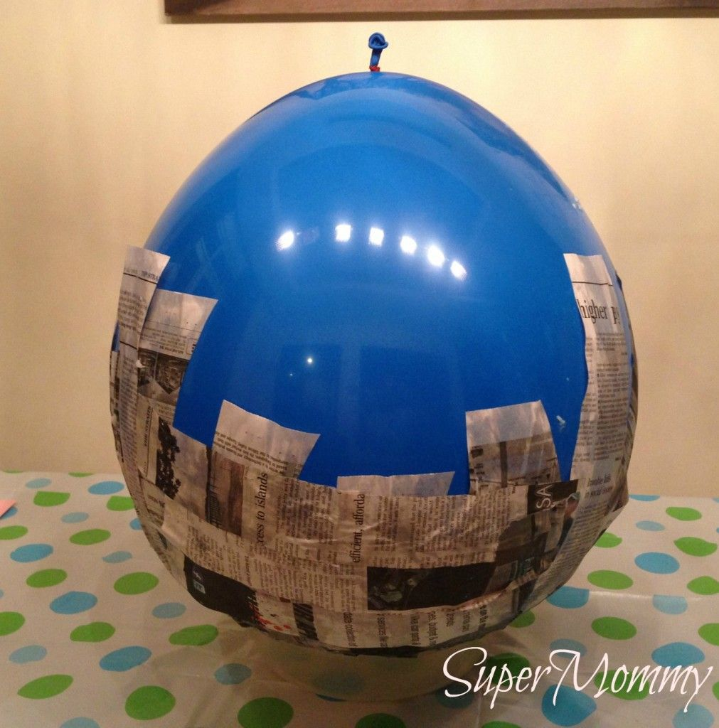 How to make a paper mache pinata parties holidays and for What can you paper mache