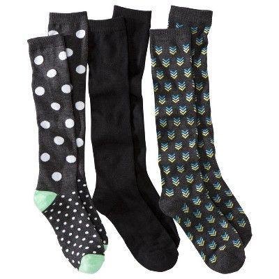 KNEE high 3 pack of socks. KNEE...
