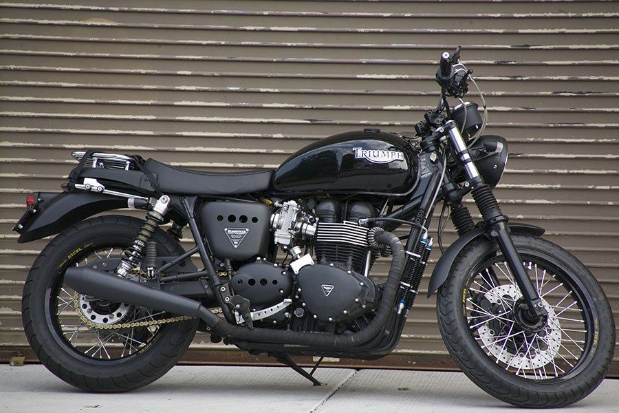 South Bay Triumph Sbt Makes The Dominator Brand Slip On Exhaust