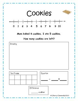 Subtraction Word Problems Tpt Math Lessons Pinterest Word