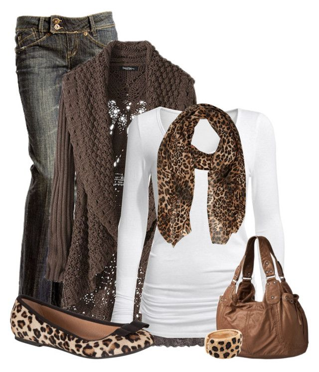 """""""Leopard Love"""" by cindycook10 ❤ liked on Polyvore featuring Kaffe, Isabella Oliver, River Island and John Lewis"""