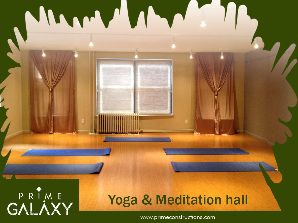 #MeditationHall : It is a place of quietude available at all times to all the devotees. #PrimeGalaxy ... For more info visit: http://goo.gl/FJjza2