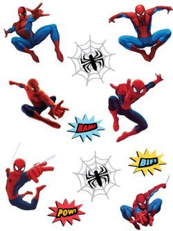 graphic relating to Spiderman Printable known as Cost-free Printable Spiderman Stickers Jobs in direction of try out in just 2019
