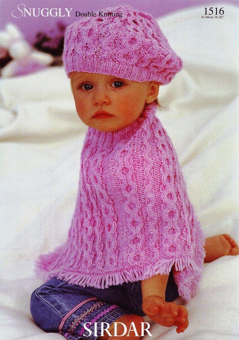 модель и схема вязанного спицами кардигана для девочки 2лет