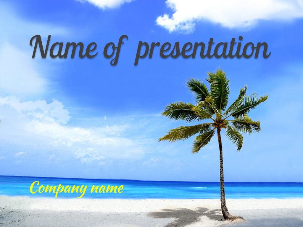 travel powerpoint template | templates | pinterest | template, Powerpoint templates