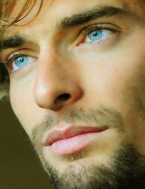 Seafoam blue eyes
