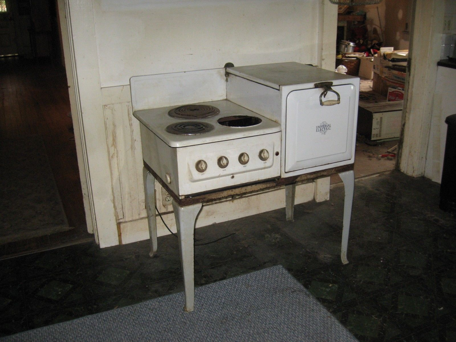 Antique 1930 Universal Electric Stove Oven Ebay
