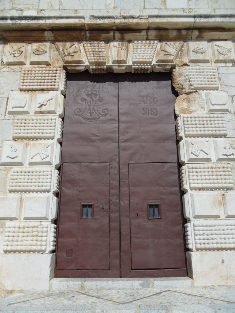 Knights Templar Church in Peniscola, Valenciana