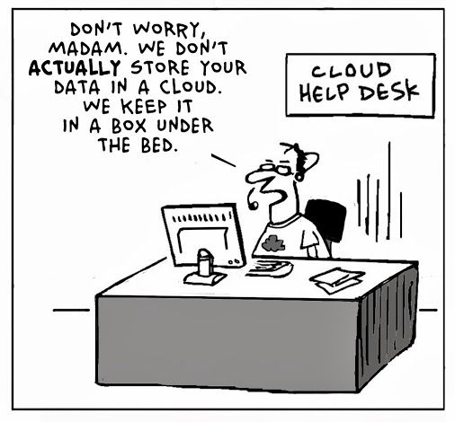 Image result for cloud business logic funny
