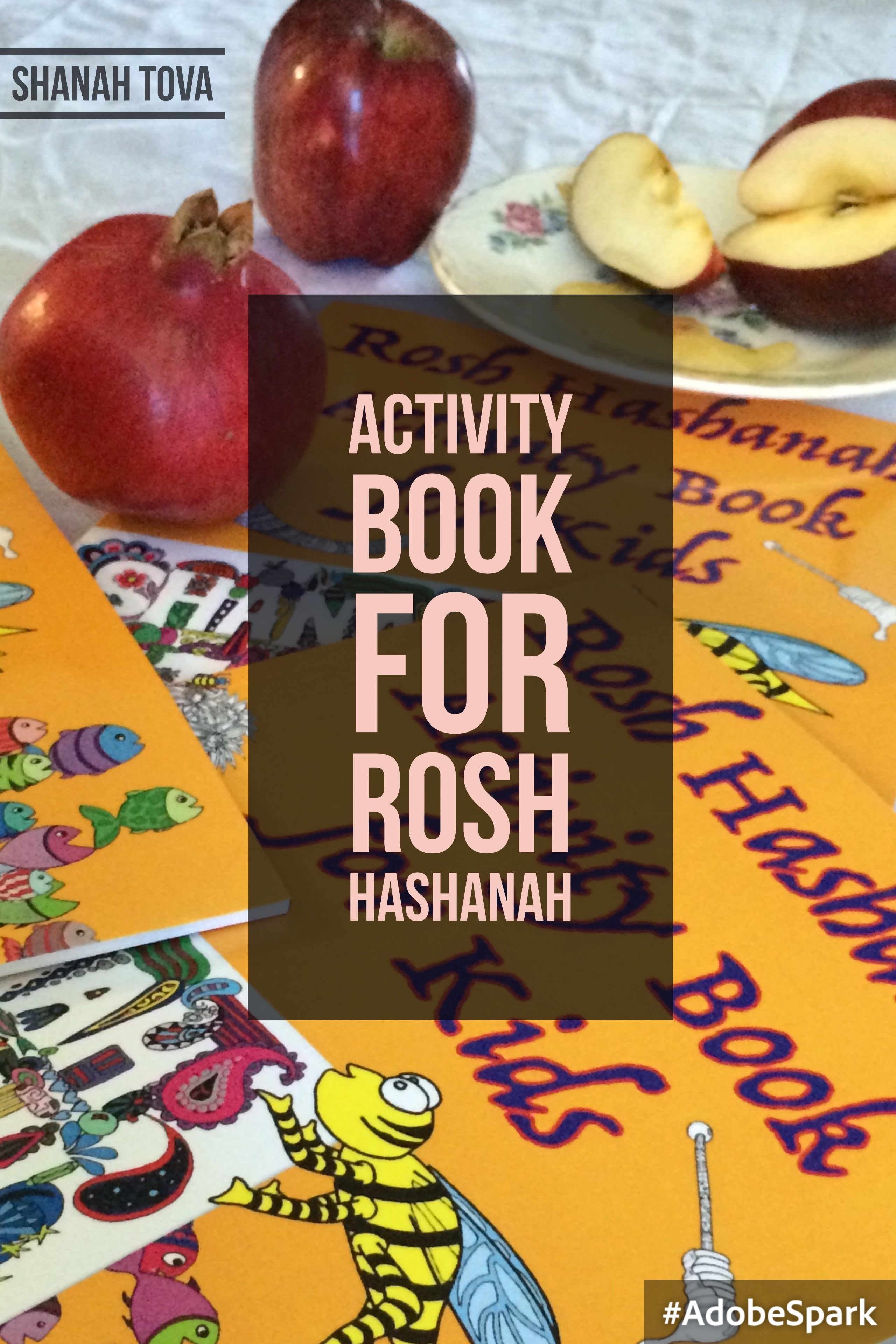 Activity Book For Rosh Hashanah Is A Fun Way To Get