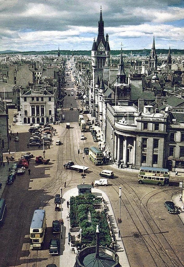Aberdeen Old Town Buildings All Of Granite Beautiful Aberdeen Scotland Scotland Travel Aberdeen