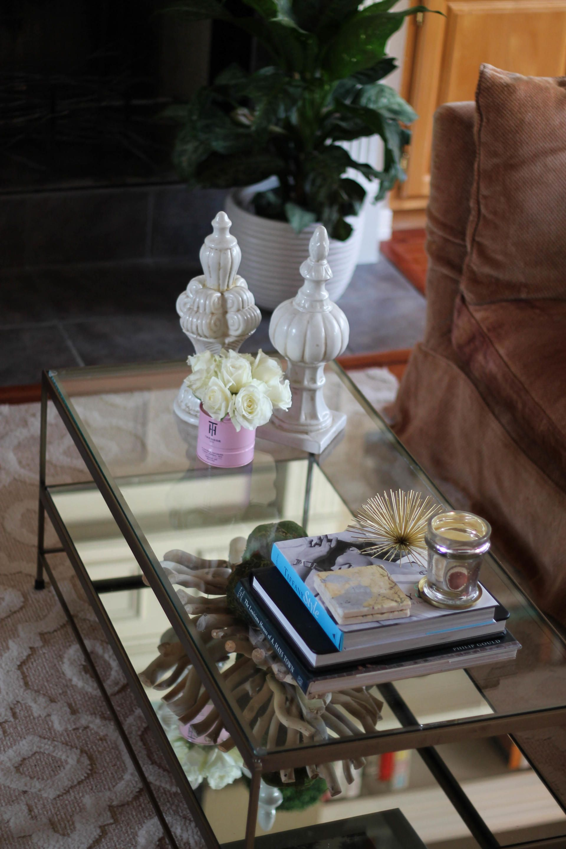 Styling A Glass Coffee Table Style Waltz Glass Coffee Table Styling Glass Coffee Table Decor Glass Coffee Table [ 2880 x 1920 Pixel ]