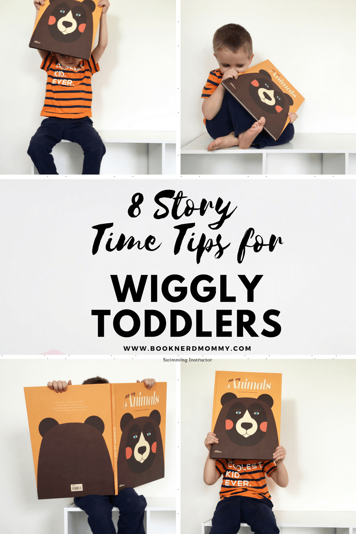 Reading to wiggly toddlers can be hard sometimes. They have short attention spans and my have an uncontrollable urge to just move. These are 8 fabulous tips on how to have a successful and fun story time experience with just such wiggly toddlers.