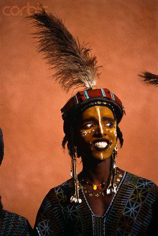 Africa   Male wodaabe, Niger   © Frans Lemmens