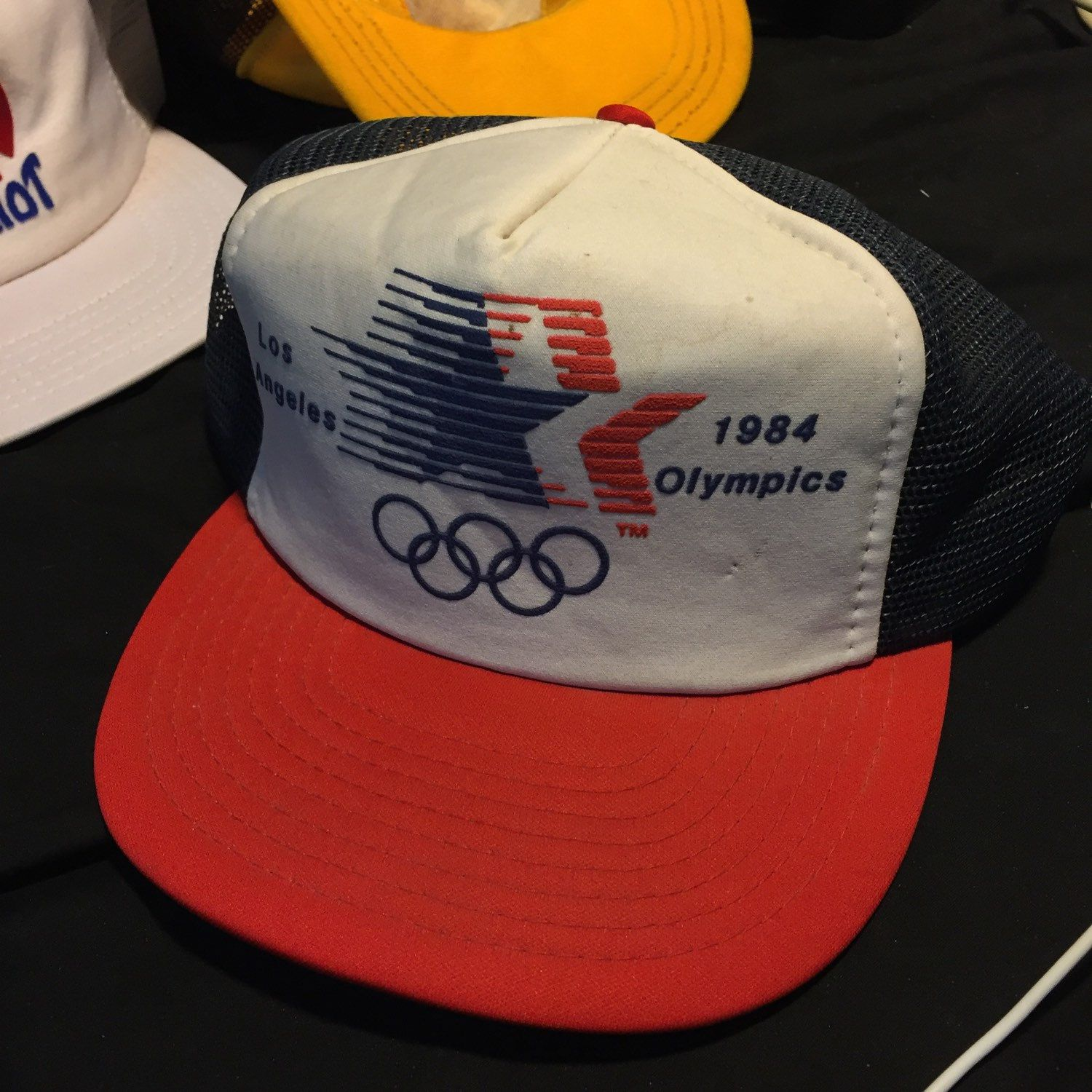 818dd32619e Los Angeles 1984 Olympics trucker cap! Official!!! Get it now ...
