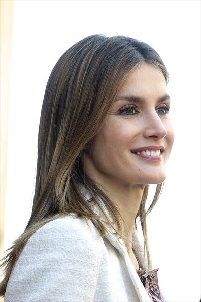Princess Letizia of Spain attends Easter Mass at the Cathedral of Palma de Mallorca on April 8, 2012 in Palma de Mallorca, Spain.