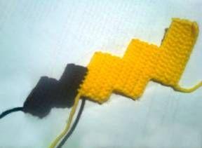 Amigurumi Patterns Pikachu : Instrucciones paso a paso gratuito para tejer al crochet ganchillo