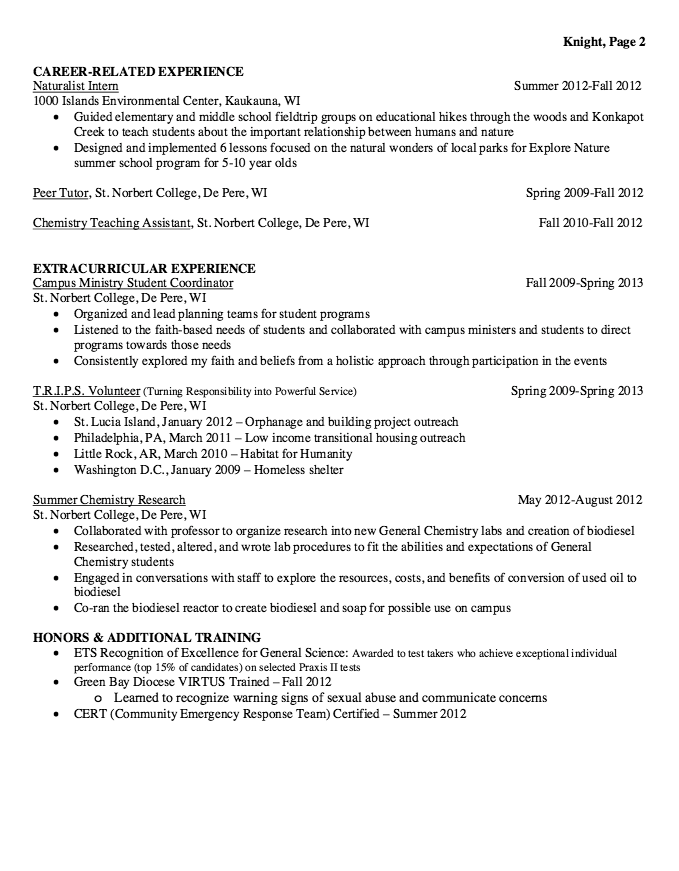 Example Of Student Teacher Resume Examples Resume Cv Teacher Resume Examples Teacher Resume Resume Examples