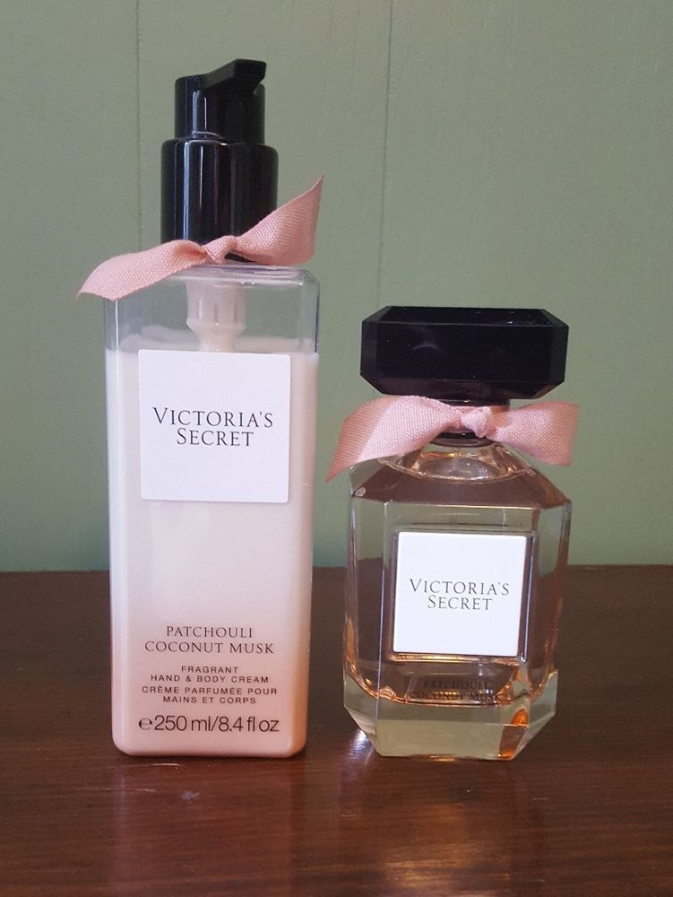 5c084acdcdc79 Victoria's Secret patchouli coconut musk perfume and body lotion ...