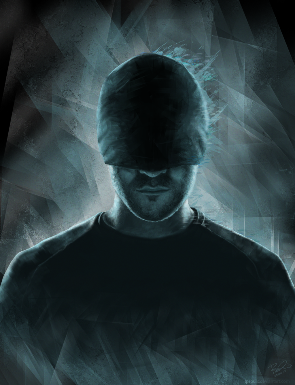 The Man In The Mask Marvel S Daredevil By Lpsoulx