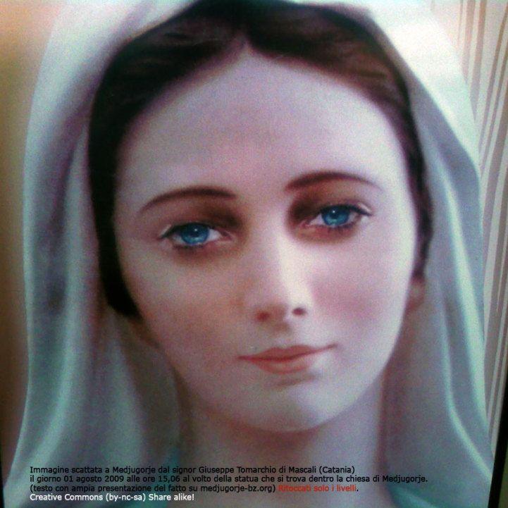 Resultado de imagen de imagenes de la virgen maria de medjugorje