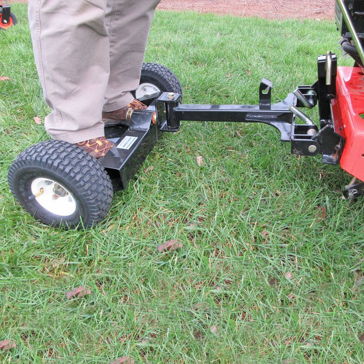 Two Wheel Sulky With Lift Amp Latch Hitch Walk Behind Mower