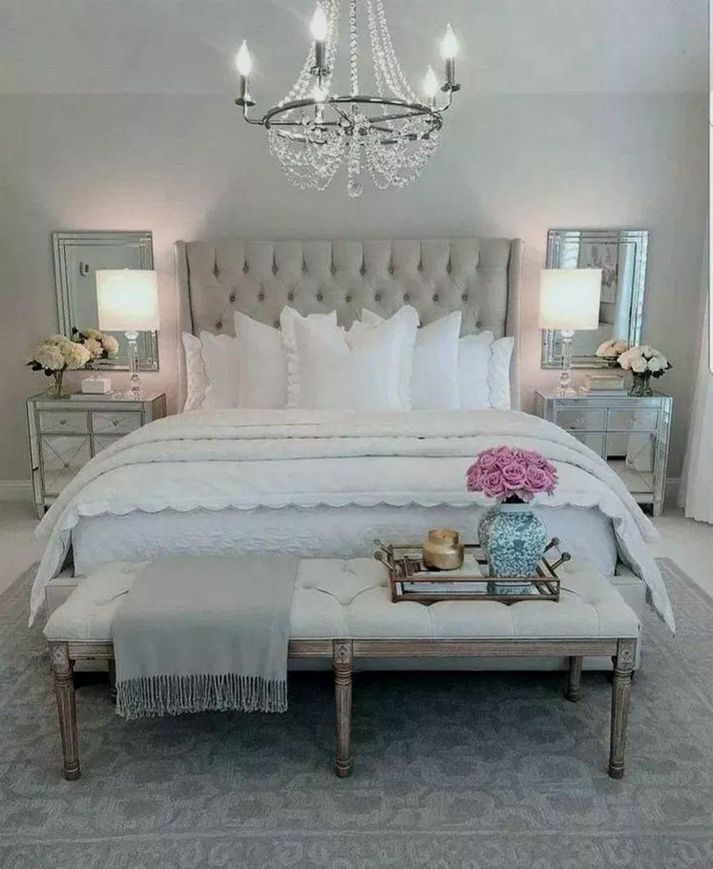 101 Elegant Small Master Bedroom Inspiration On A Budget Glam Bedroom Decor Luxury Bedroom Master Master Bedrooms Decor