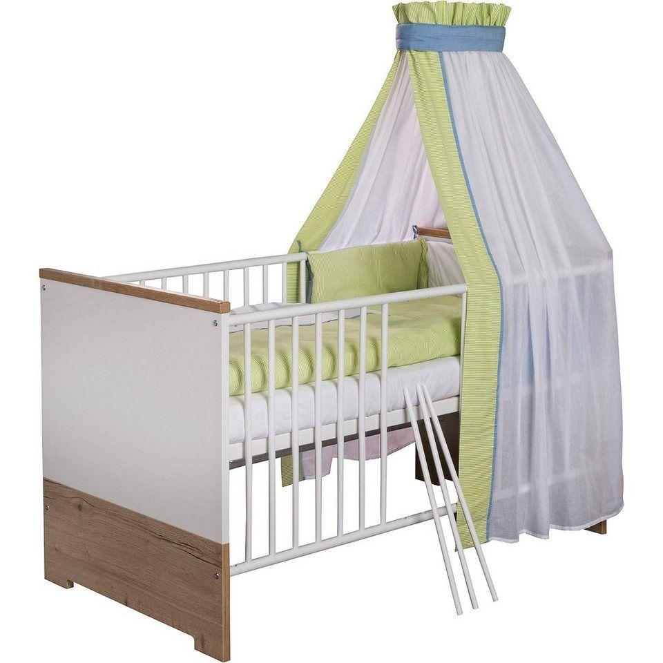 Schardt Kinderbett Eco Plus 70x140 Cm Weiss Halifax Eiche Another