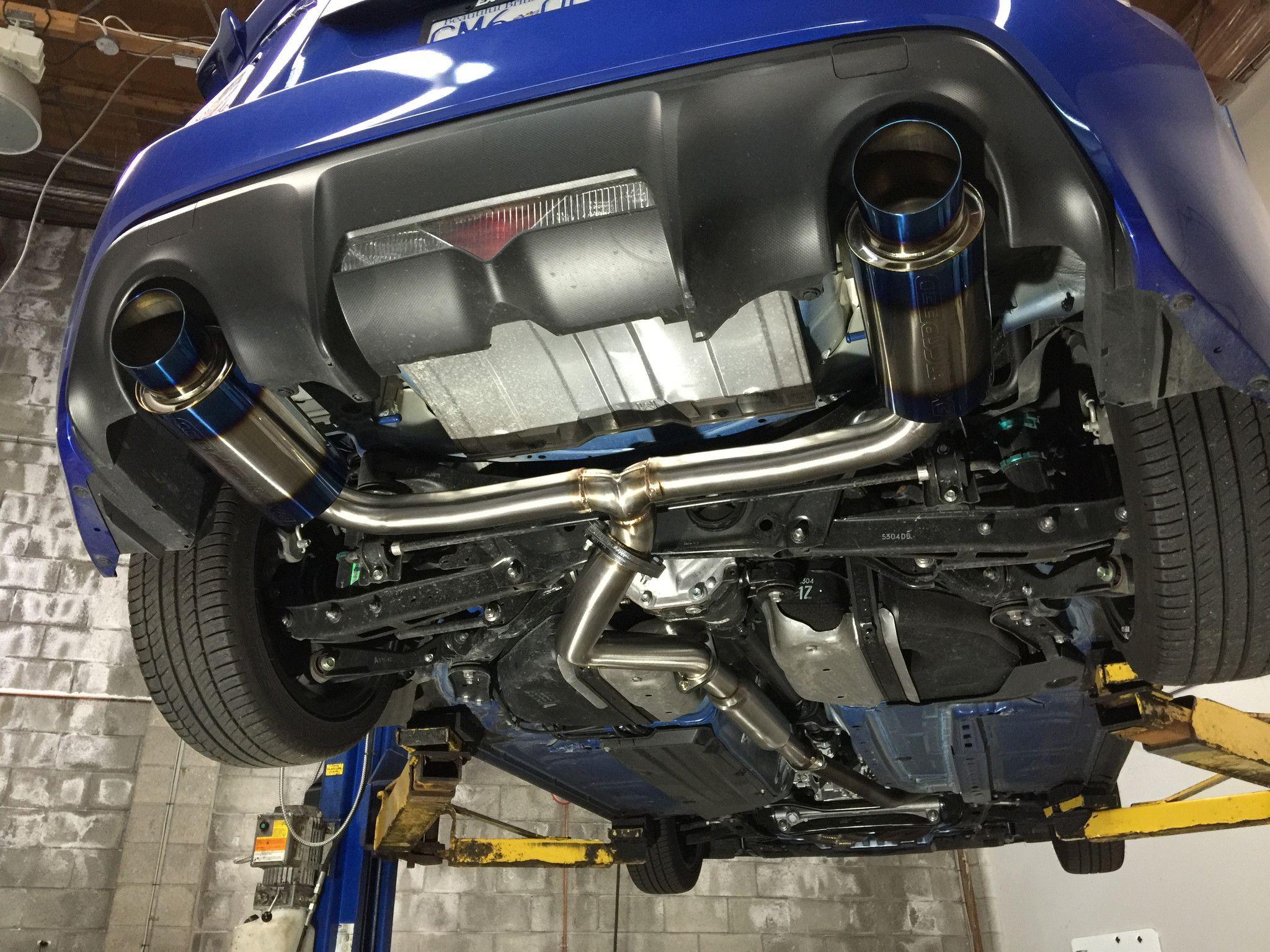 R1 t exhaust scion frs subaru brz 2013 on