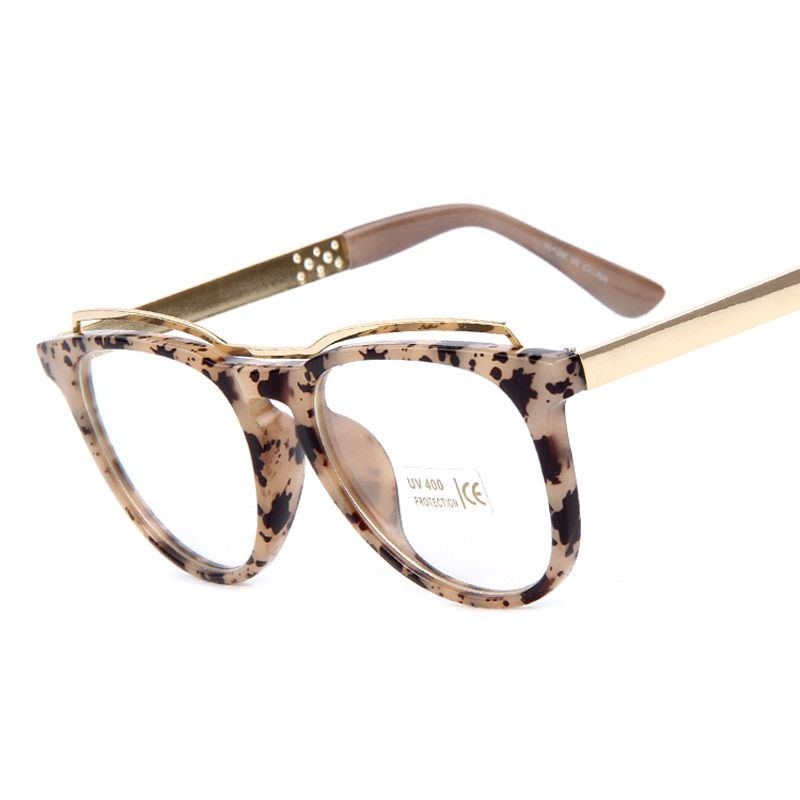 Photo of Women's Leopard Printed Glasses Frame – AbyanOnlineExpress