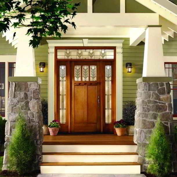 Model Desain Pintu Utama Rumah Modern Elegan | Rumah indah ...