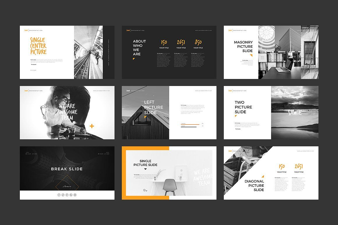SAWIE PowerPoint Template by Angkalimabelas on @creativemarket ...