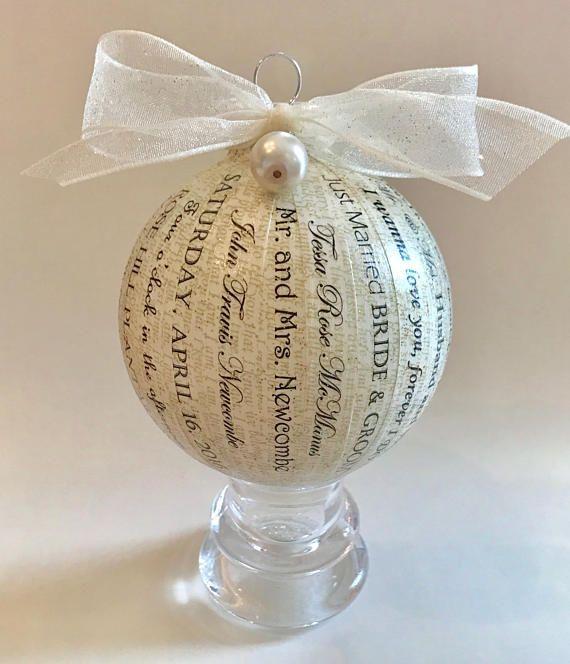 Personalized Wedding Song Lyrics Gift Bride & Groom