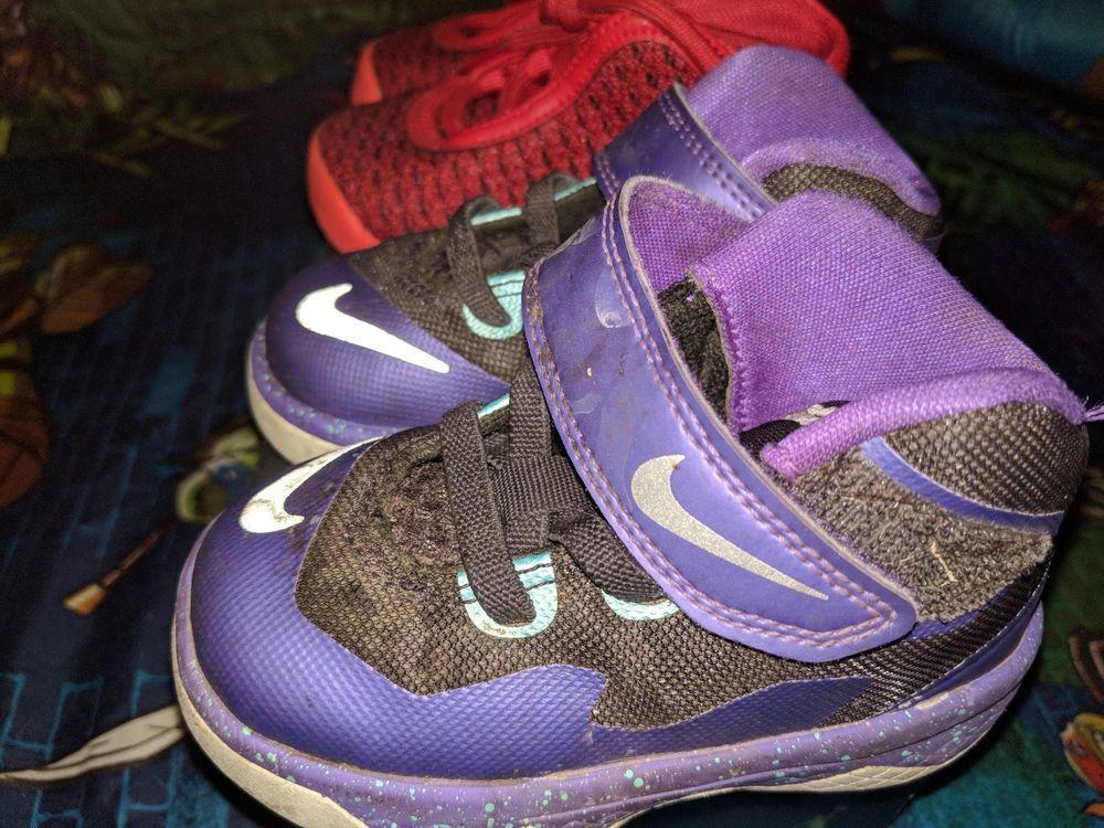 6ca90f7c361 Nike Lebron Soldier VIII 8 Toddler Sz 5C Purple Summit Lake Hornets FREE S   fashion  clothing  shoes  accessories  babytoddlerclothing  babyshoes  ad  (ebay ...