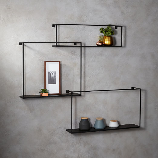Modern Shelving And Wall Mounted Storage Cb2 2020 Floating