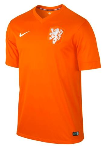 Shirt Nederland thuis Authentic 14 16  96e658329