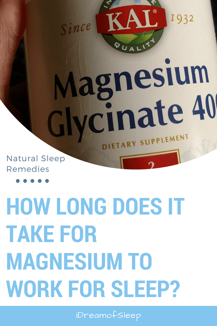 tried magnesium for sleep but nothing seems to be helping? | natural